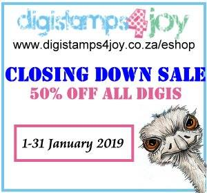 Digistamps4Joy closing 31 January 2019