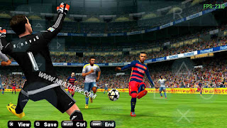 Update Game PES 2016 iso PPSSPP V3