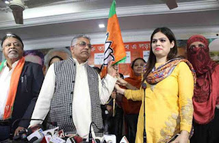 rti-activist-and-counsel-for-ishrat-jahan-advocate-nazia-elahi-khan-joins-bjp-along-with-her-follow