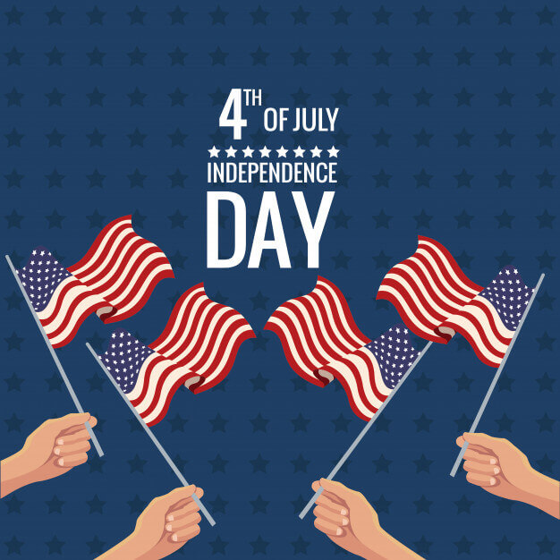happy fourth of july clipart download free