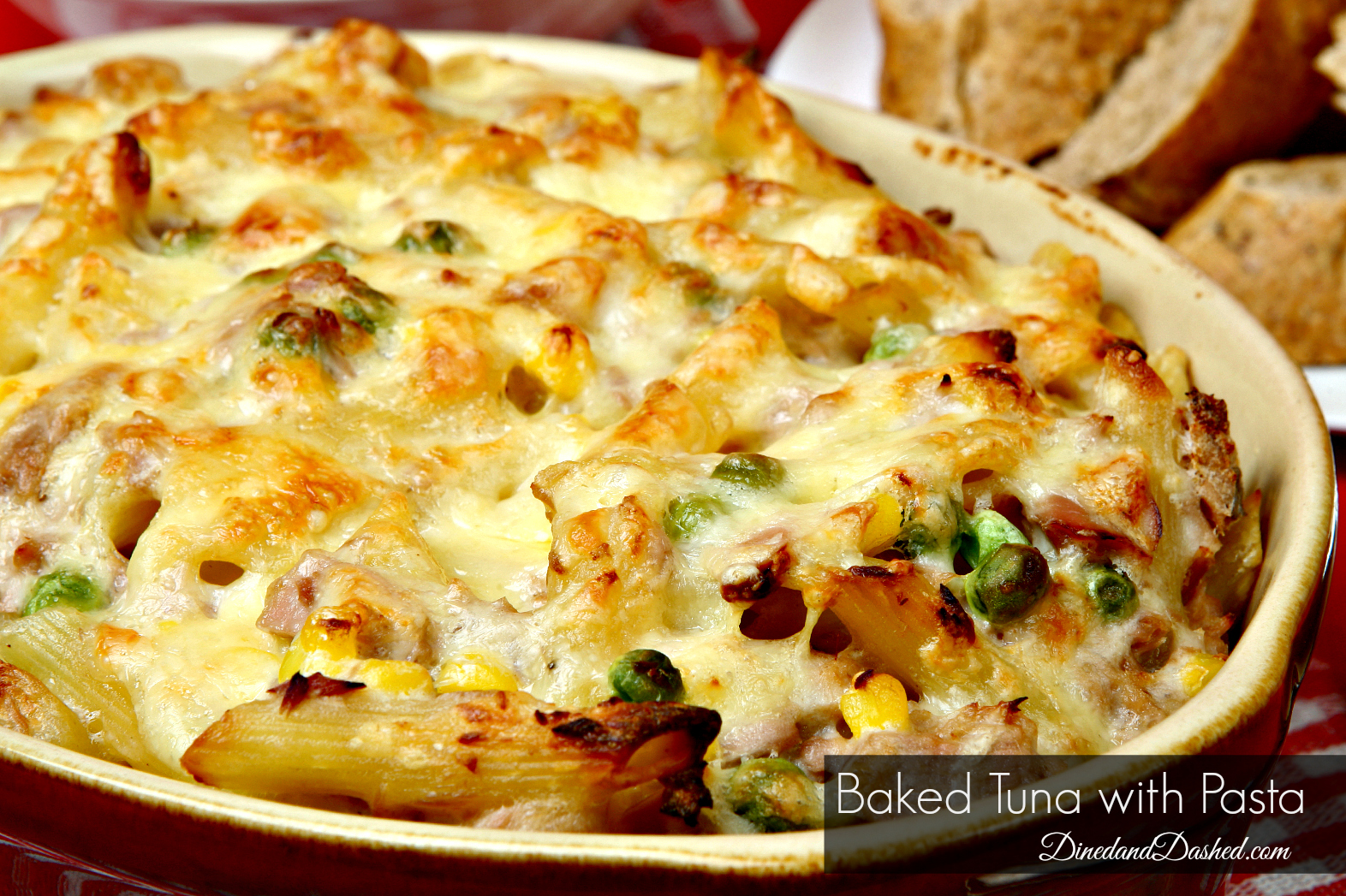 Easy Baked Tuna with Pasta
