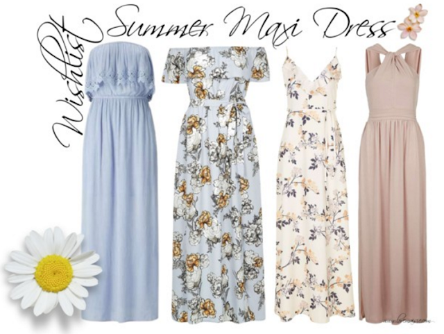 Summer maxi dress wishlist | Love, Maisie