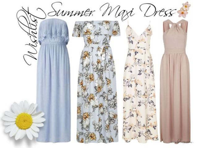 Summer maxi dress wishlist | Love, Maisie