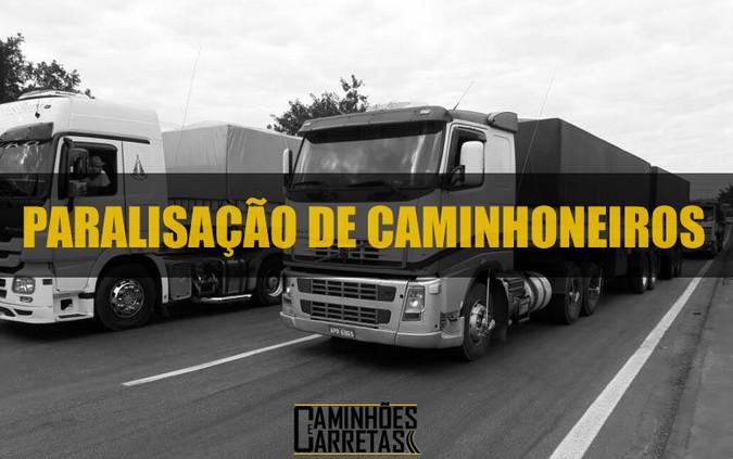 Baixada Santista terá paralisação de caminhoneiros nesta quarta-feira (16)