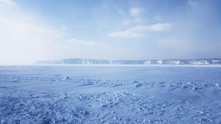 Порт Байкал зимой