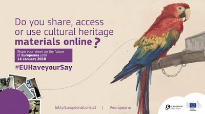 Δημόσια διαβούλευση για τη Europeana, την ευρωπαϊκή ψηφιακή πλατφόρμα για την πολιτιστική κληρονομιά