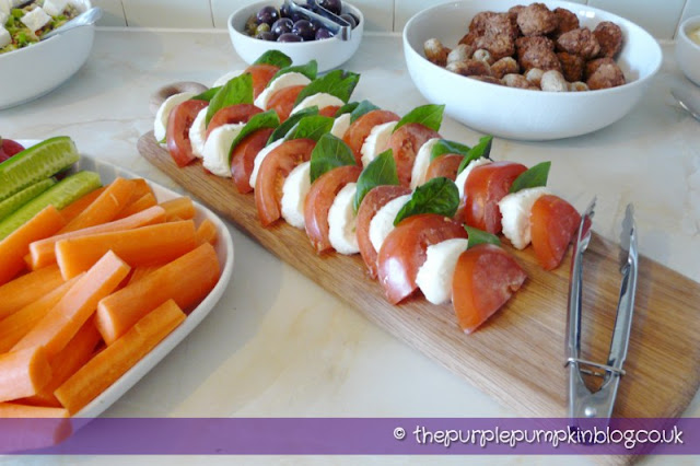 Eurovision Song Contest Party - Caprese Salad
