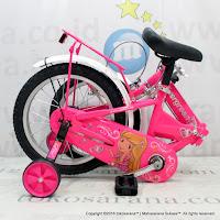Sepeda Lipat Anak Evergreen EG116 Princess 16 Inci Pink