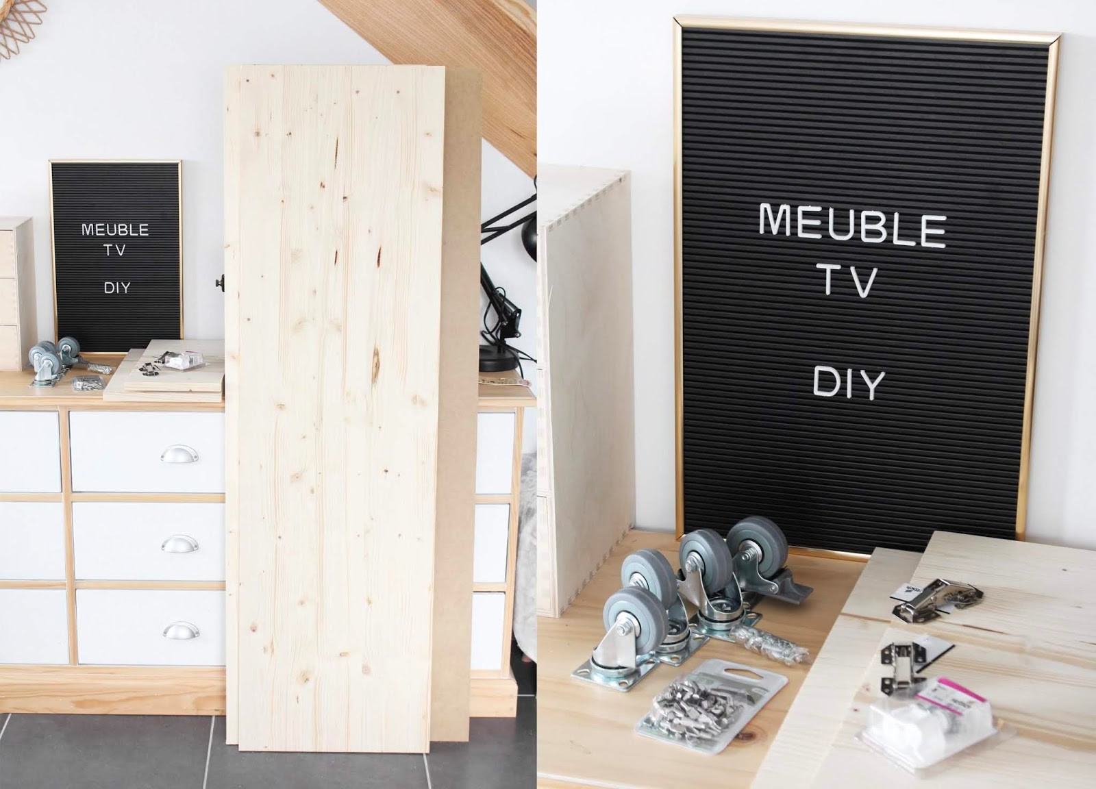 Diy Meuble Tv Leroy Merlin Lola Etcétéra