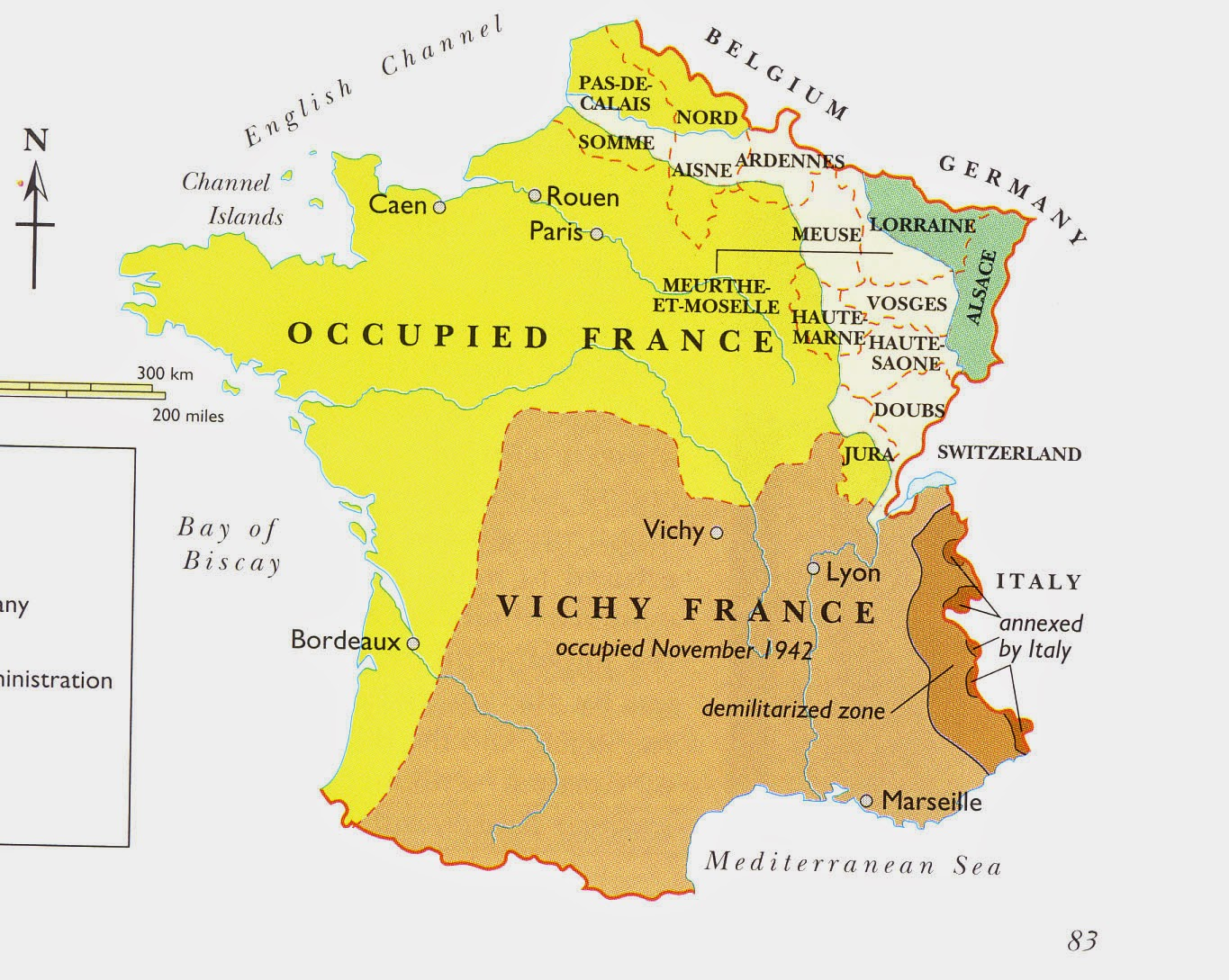 Map Of France During World War Ii.World War Ii In The Words Of My Uncle 05 31 18