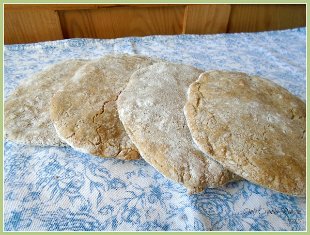 Gluten Free Brown Pitta Breads