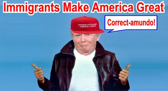 Image result for big education ape trump immigration