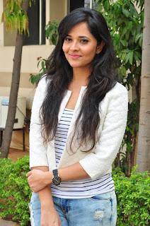 Actress Anchor Anasuya Stills in Ripped Jeans at Kshanam Release Press Meet  0009.jpg