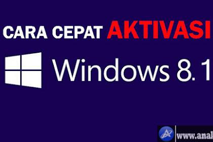 Cara Cepat Dan Mudah Aktivasi Windows 8.1 Pro Full