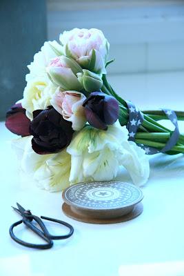 tulipa bouquet bukett