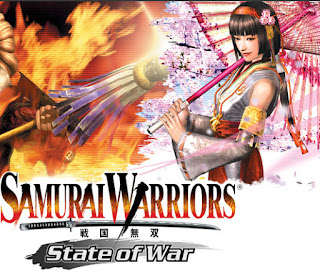 download Game Samurai Warriors State of War CSO Compress For PPSSPP Emulator