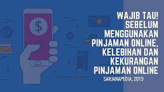 Resiko Menggunakan Jasa Pinjaman Online