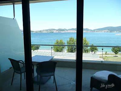 La ría de Vigo a un paso de nuestra terraza