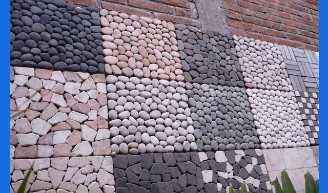 rumah pagar batu alam