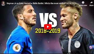 Eden Hazard vs Neymar : Mọi sự so sánh đều khập khiễng