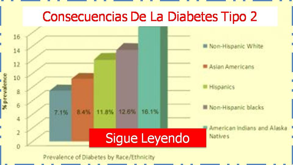 consecuencias de la diabetes tipo 2