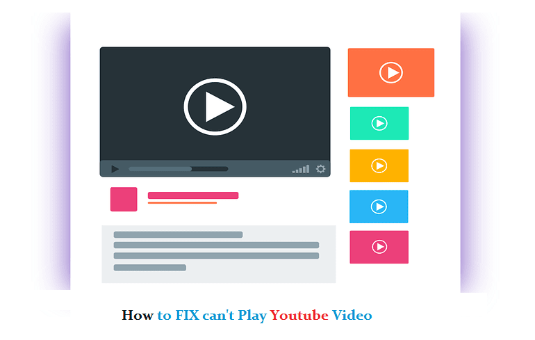 Video youtube error tidak ada gambar