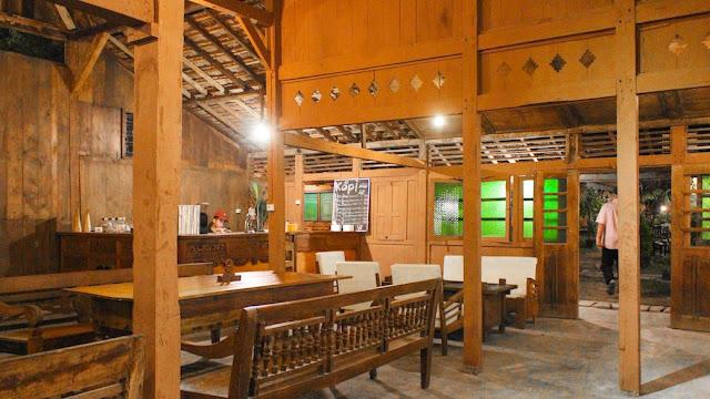 restoran kampung jawa di jogja
