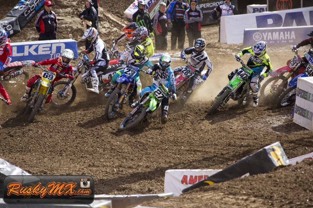 450 Semi 1 Start Metlife SX 2015