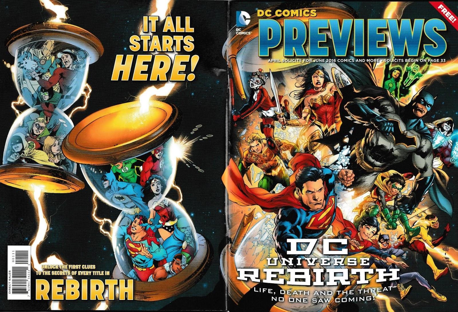"""Área de Previews """"USA"""" Cover"""