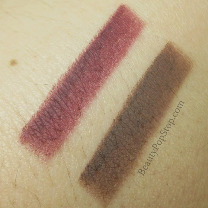 occ lydica and sebastian cosmetic colour pencil swatches