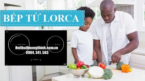 bếp từ Lorca thiết kế cảm ứng dạng ẩn