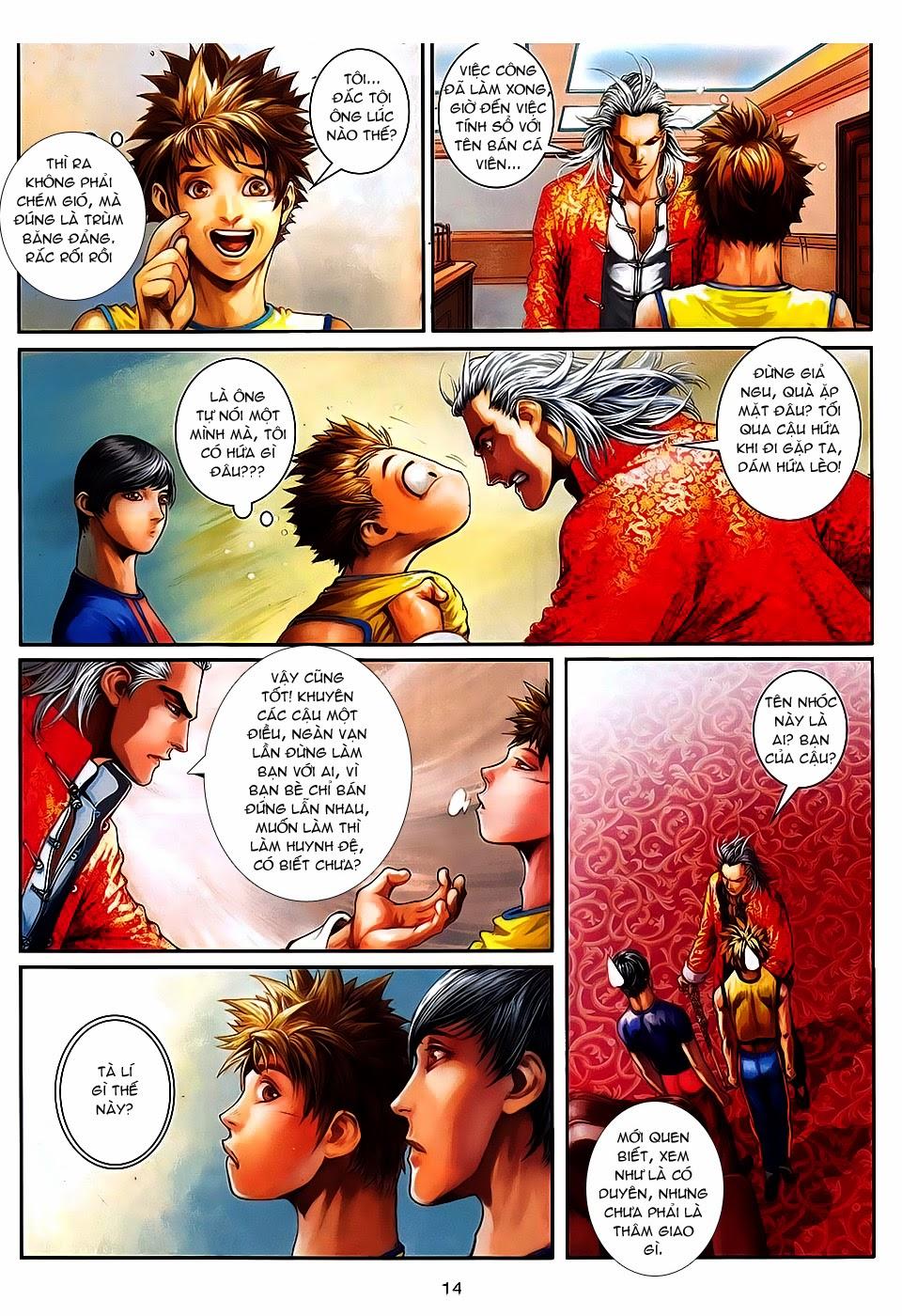 Quyền Đạo chapter 8 trang 14