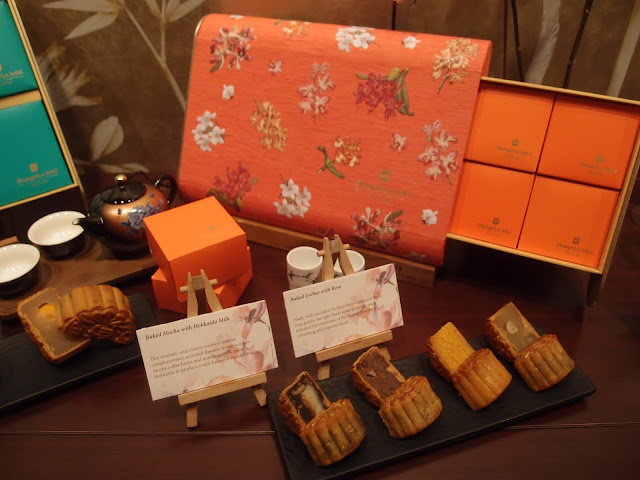 shang palace traditional mooncakes