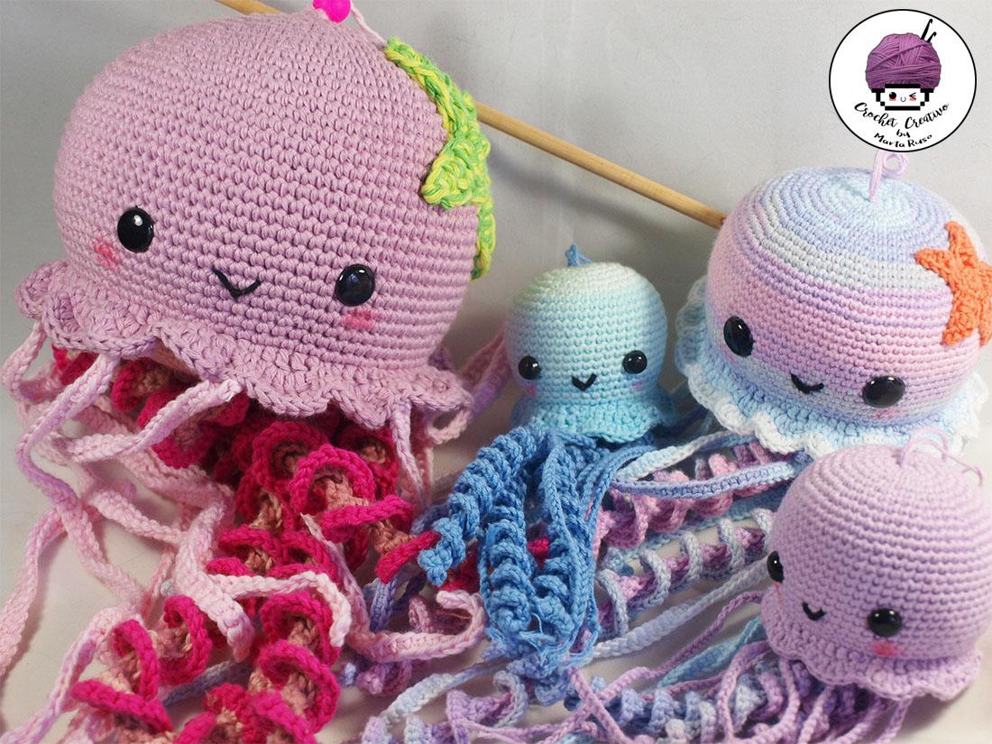 Marta Ruso Crochet Creativo: CAL Medusas - ¡Reto con SÚPER SORTEO!