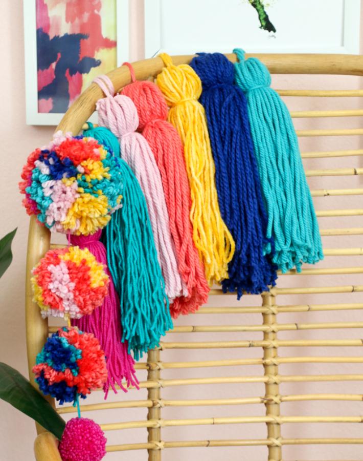5 sencillos diy para dar un colorido aire boho a la decoración