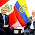 PPK Y MORENO ACUERDAN PROFUNDIZAR INTEGRACIÓN, PROTEGER LA AMAZONÍA Y COMBATIR LA CORRUPCIÓN
