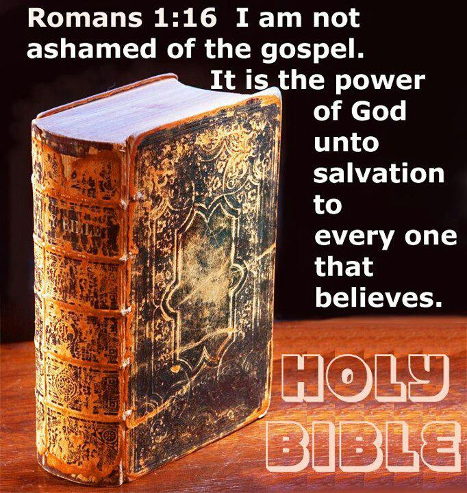 I am not ashamed of the gospel, because it is the power of God that brings salvation to everyone who believes: first to the Jew, then to the Gentile