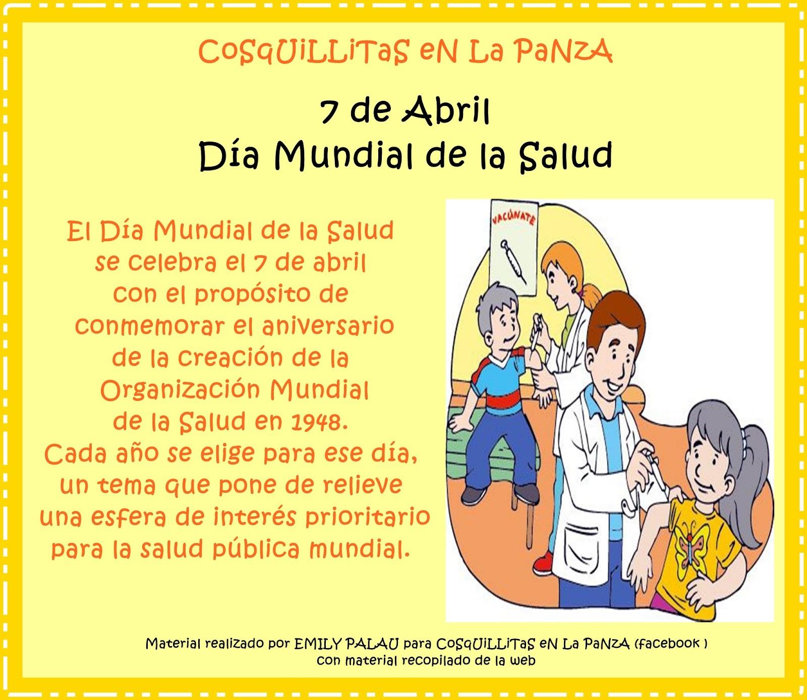 Apoyo Escolar Ing Maschwitzt Contacto Telef 011 15 37910372 7 De Abril Dia Mundial De La Salud C Actividades