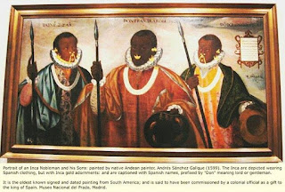 moors, incan kings, nobility