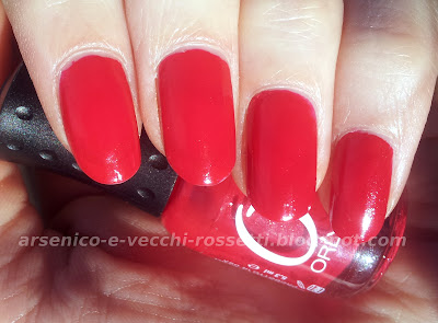 Orly Mini Smalto Monroe's Red swatch