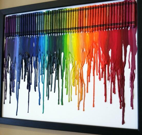 Melty Crayons A La Pinterest