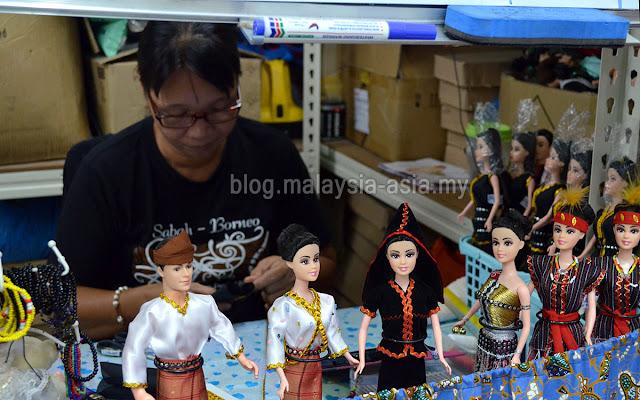 Sabahan Dolls