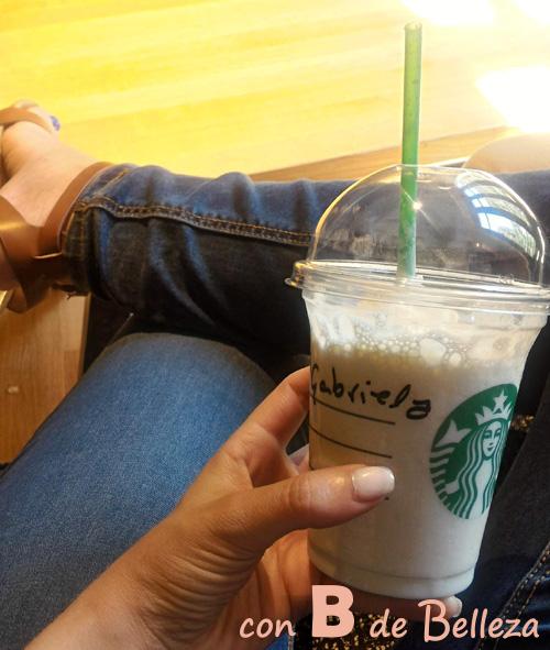 Café Moka blanco Starbucks