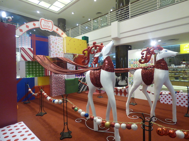 Cute Christmas decor at Cheras LeisureMall
