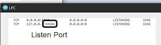 Cara Melihat Listen Port Inject