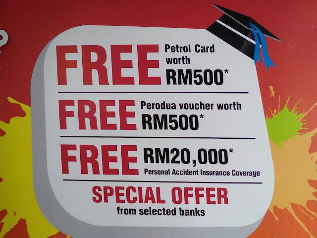 Perodua Myvi XT Fresh Graduates Undergraduates Discounts Promotions