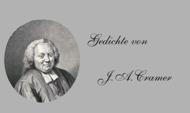 Der Dichter Johann Andreas Cramer