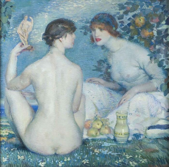 Federico Beltrán-Masses 1885-1949 | Spanish painter | Belle Époque