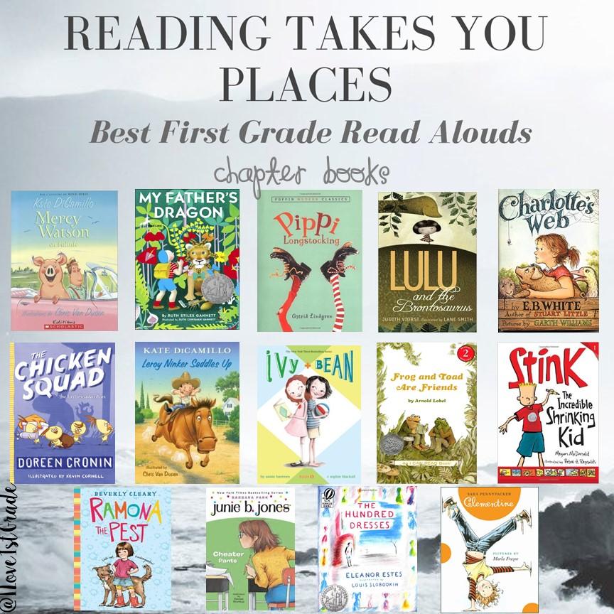 6 grade level chapter books