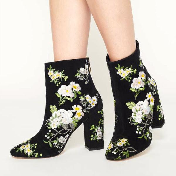 miss selfridge athena ankle boots
